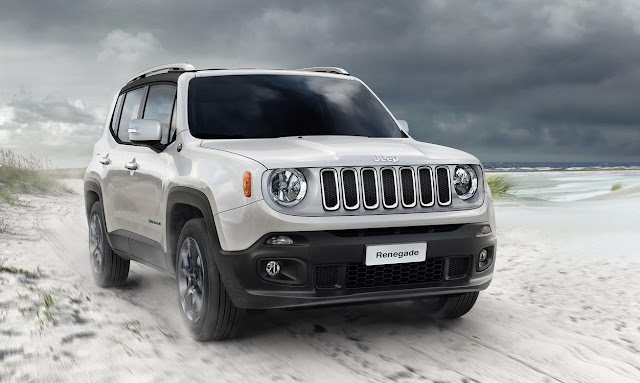 2016 Jeep Renegade white