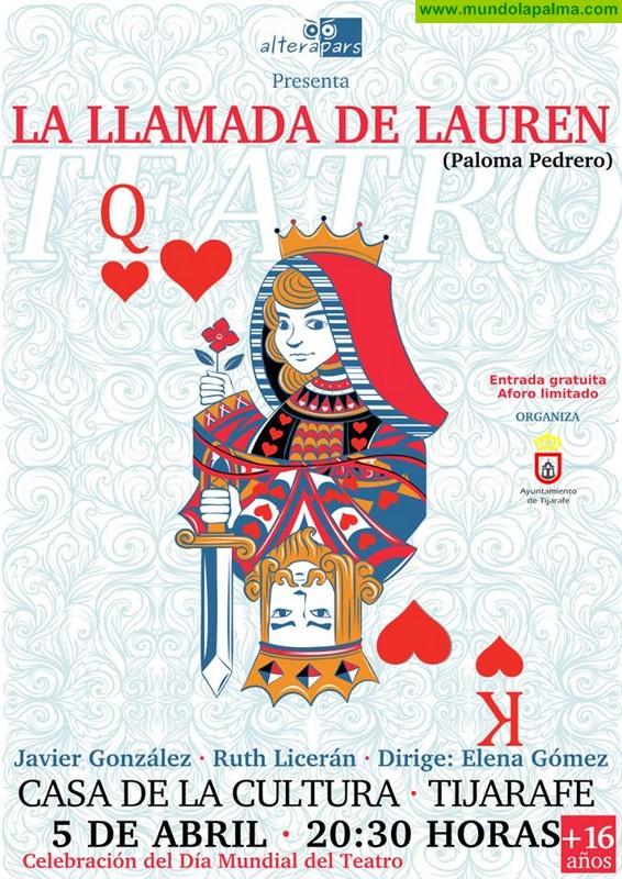 "Teatro ""La Llamada de Lauren"" en Tijarafe"