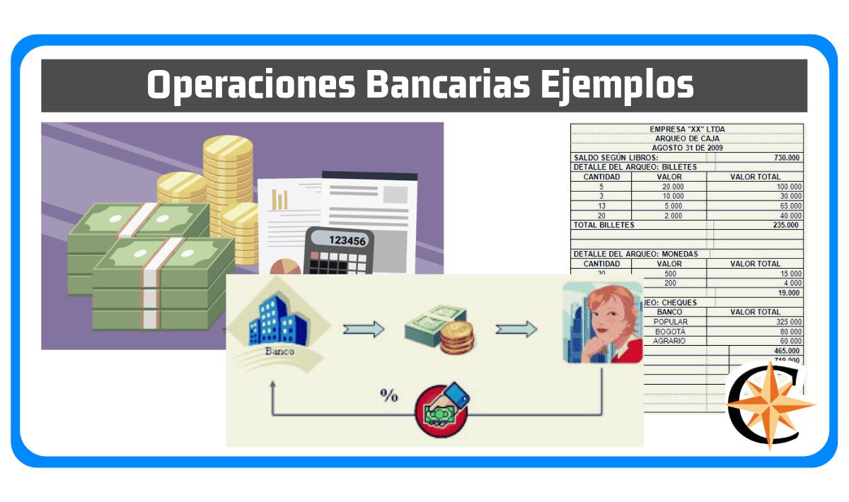 Operaciones Bancarias Ejemplos