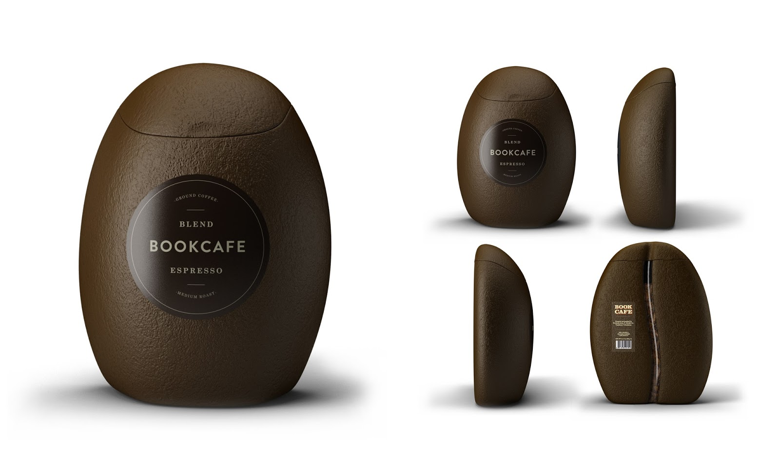 Bookcafe Blend Ground Coffee on Packaging of the World ...