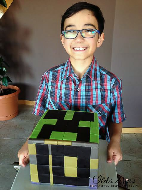 Minecraft Cake | DIY Cakes