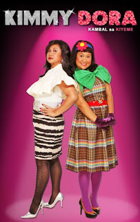 Kimmy Dora: Kambal sa Kiyeme is a 2009 Filipino comedy film directed by Joyce Bernal and written by Chris Martinez, starring Eugene Domingo.