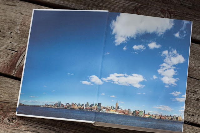 Skyline New York aus Mein New York Kochbuch, Bildband