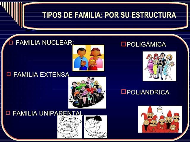 La cultura la familia sus estructuras y estilos for Tipos de familia pdf