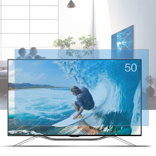 غطاء حماية شاشة تلفزيون 50 بوصة