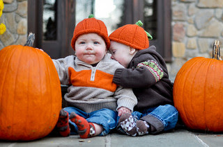 Image: Pumpkin Twins, by Joelle Inge-Messerschmidt | www.photographybyjoelle.com, on Flickr