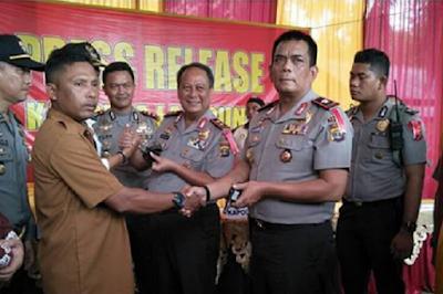Bongkar Home Industry Senjata Api Rakitan, Kapolda Lampung Beri Reward Anggota