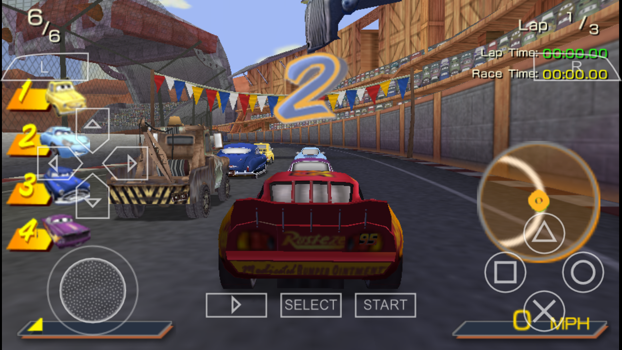 Cars PSP ISO Free Download & PPSSPP Setting - Free PSP ...