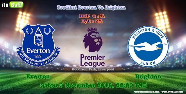 Prediksi Everton Vs Brighton  - ituBola