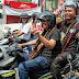 Kampanye Damai, Paslon DJOSS Naik Sepeda Motor Untuk Menyapa Warga