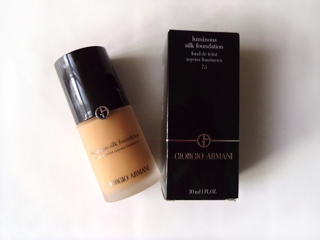 Giorgio armani luminous silk foundation 7.5