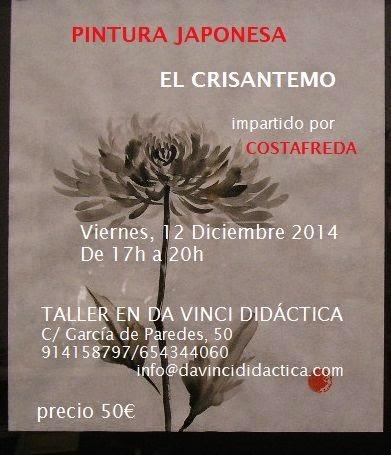 Curso de Pintura Japonesa en Madrid
