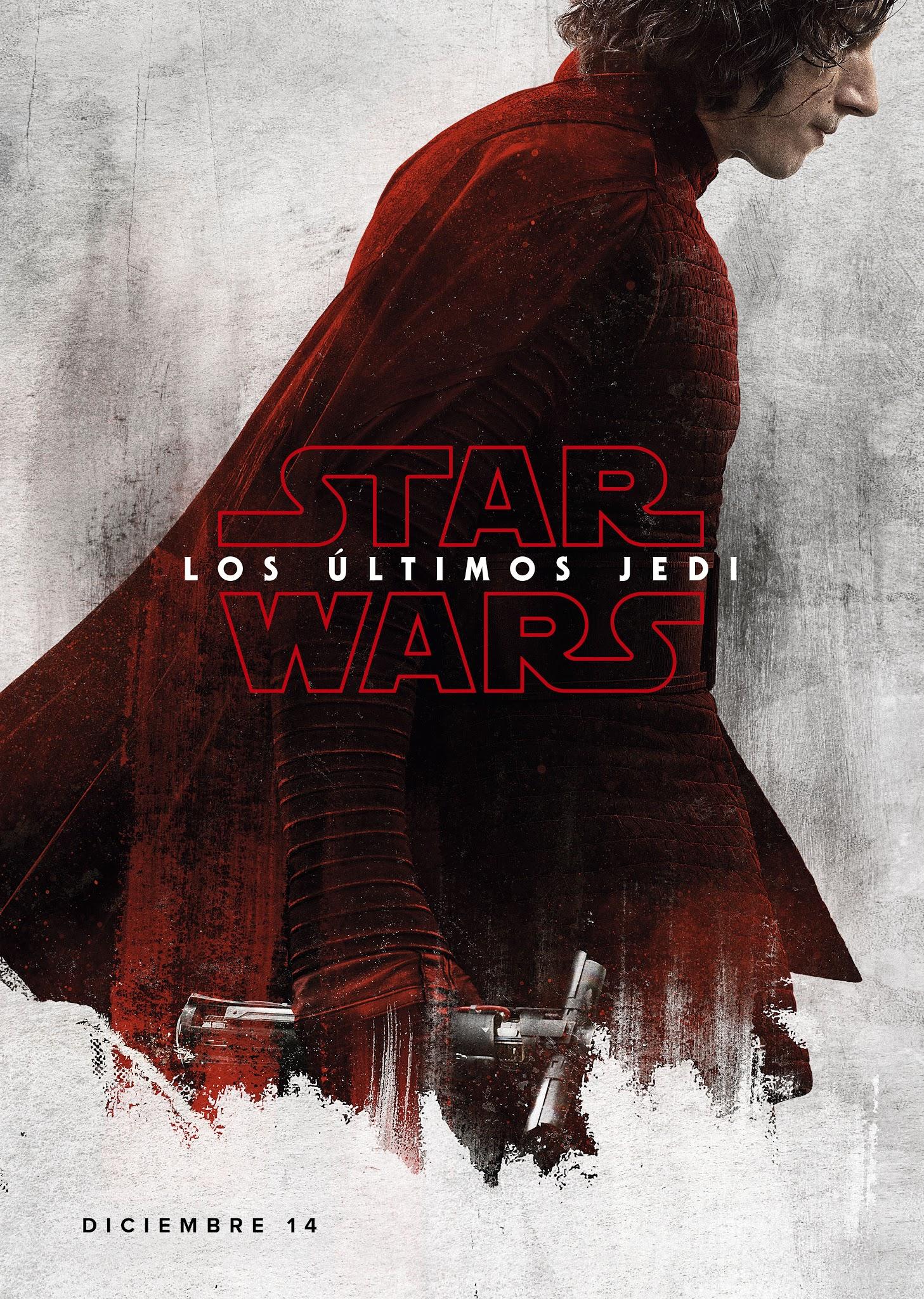 Teaser Posters Individuales De Star Wars Los  U00daltimos Jedi