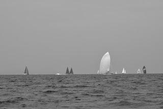 Voiliers dans le Golf de Saint-Tropez