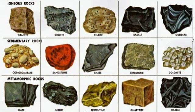 contoh batuan sedimen