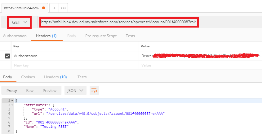 Infallible Techie: Simple Inbound REST API using Apex in