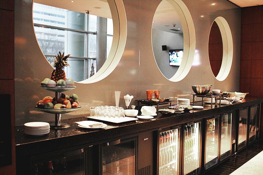 lounge food buffet