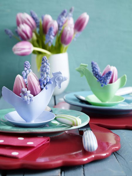 Easter Decor - Easter Decorating Ideas ~ Interiors and ...