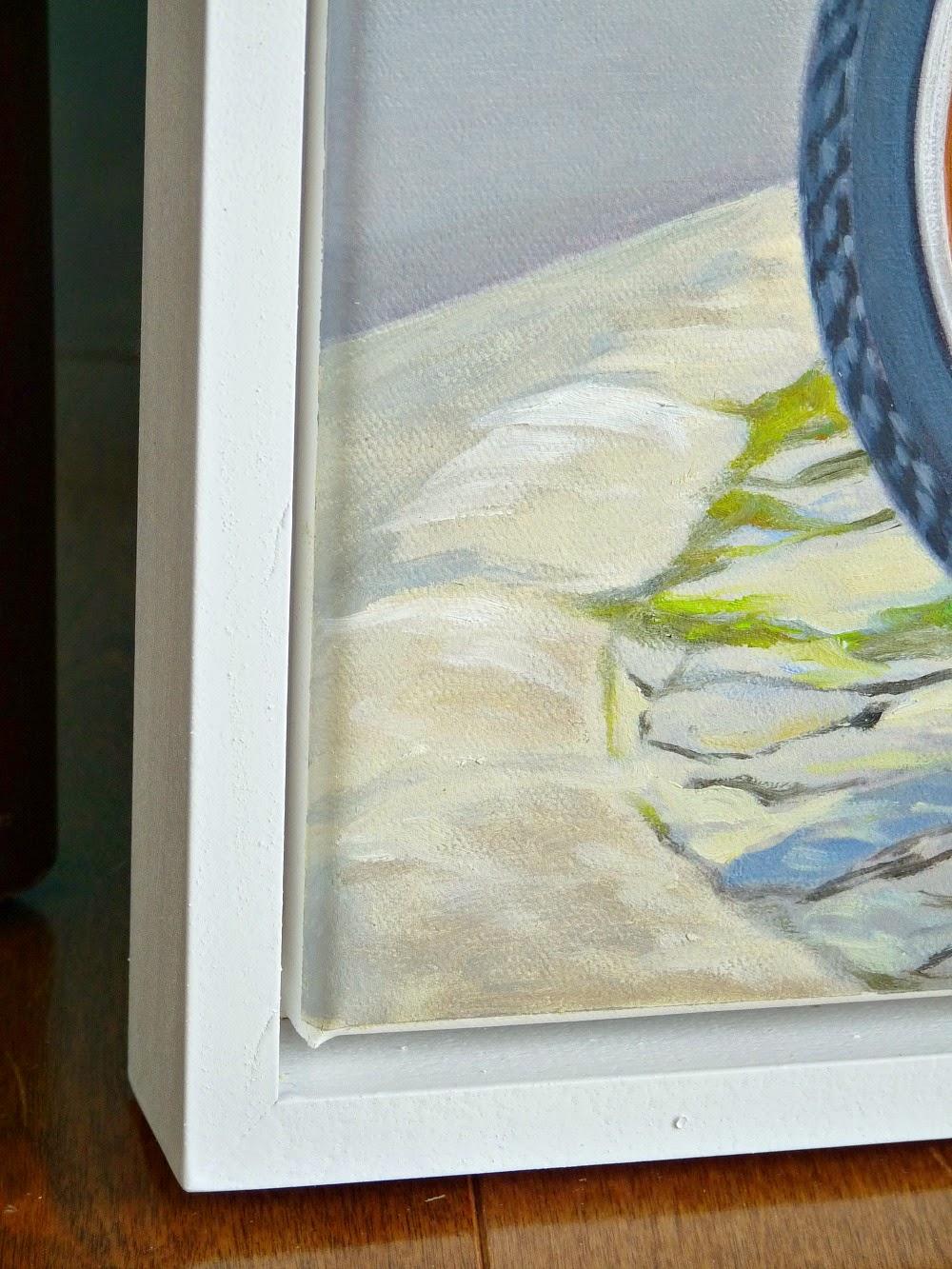 Build an easy float frame for art