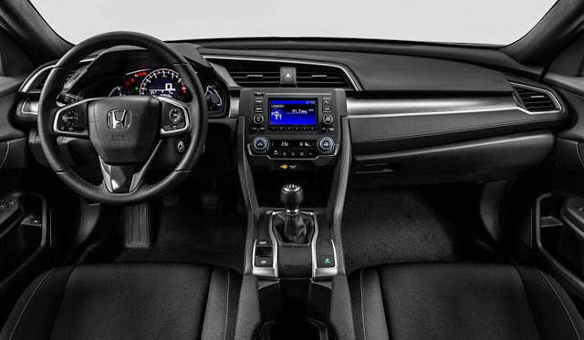 Honda Civic Sport 2017 - interior