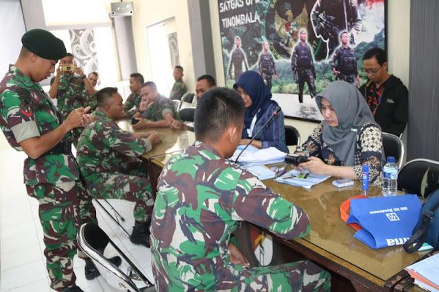 Bank BRI Adakan Pembaruan ATM Merah Putih di Yonif Raider 514 Kostrad