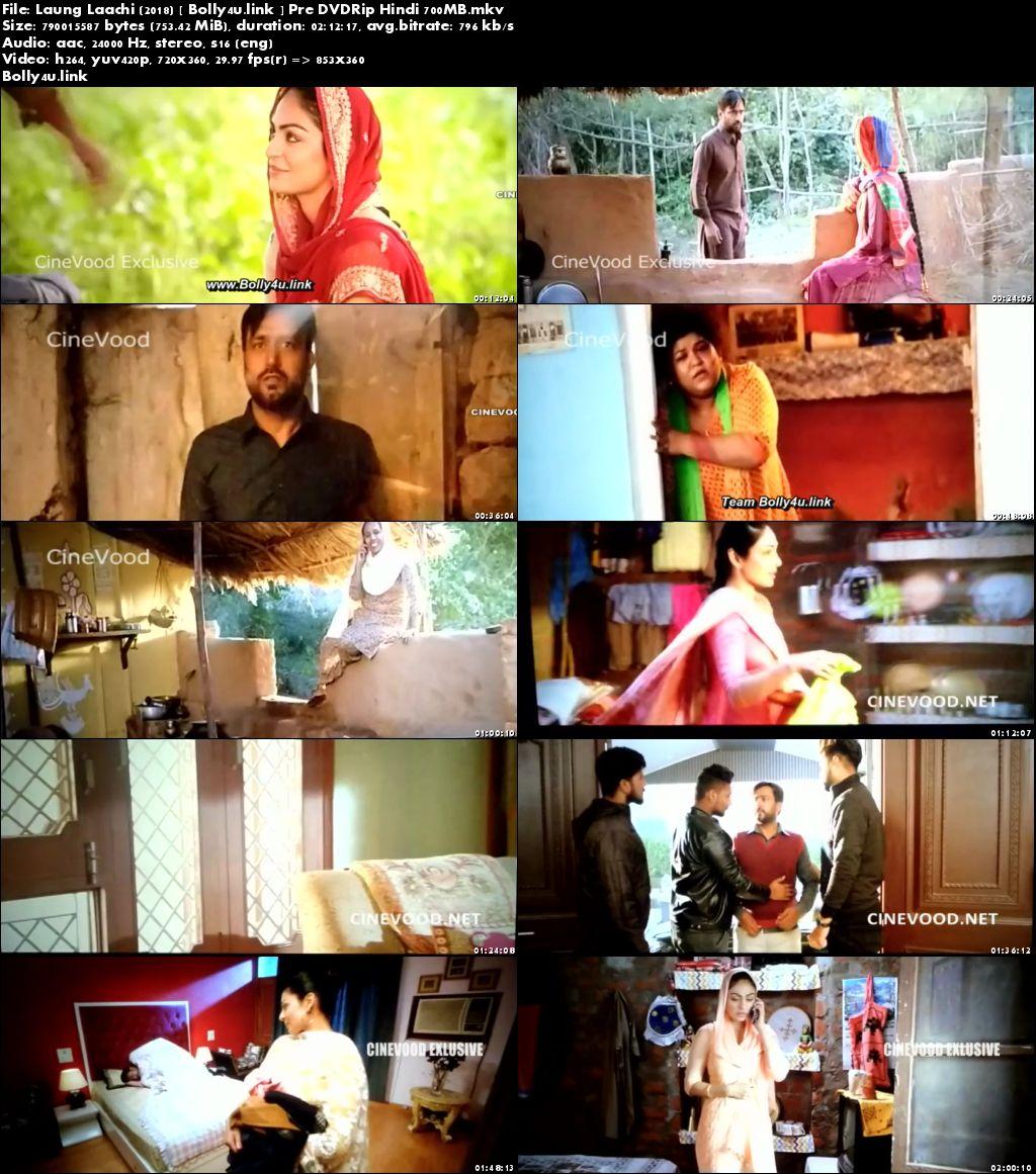Laung Laachi 2018 Pre DVDRip 700MB Punjabi x264 Download