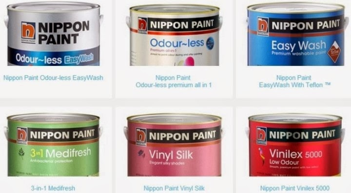 nippon paint odourless easywash