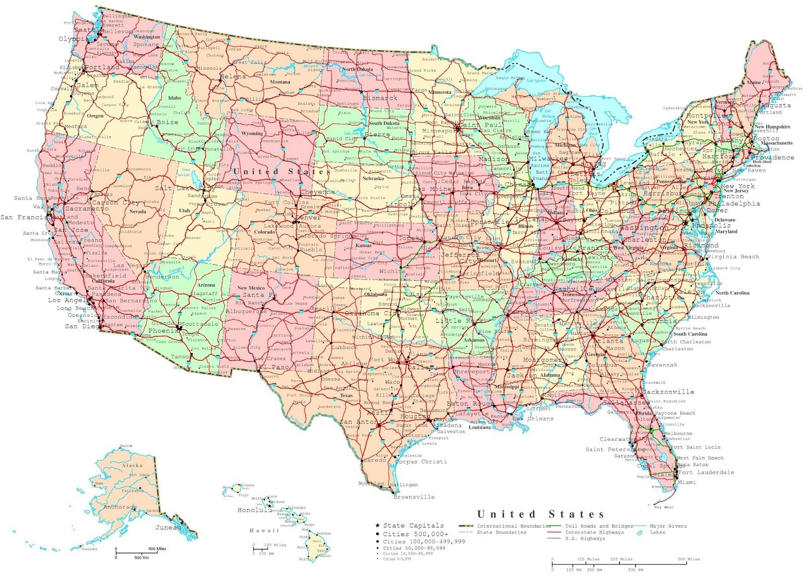 Cartina Stradale Usa Ovest.Aria Fritta Consigli Per Un Viaggio Negli Stati Uniti