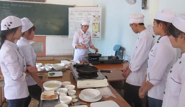Trường dạy nấu ăn hà nội