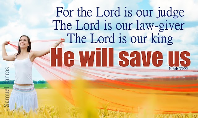 Our King Will Save Us - Brother Samuel Janras