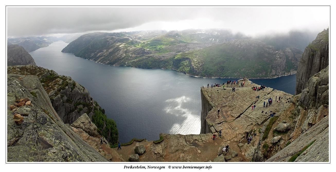 norwegen bergen wandern