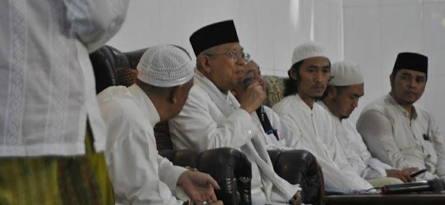 Di Ponpes Al Khoziny Sidoarjo, Cawapres KH Ma'ruf Amin Dorong Pesantren Lahirkan Banyak Pemimpin Nasional