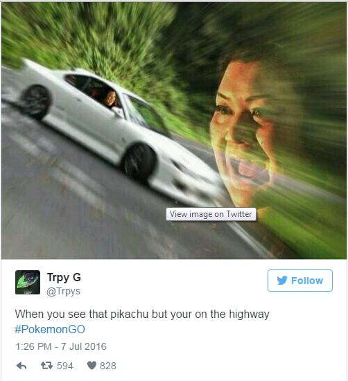 19 Funniest Reactions To Pokémon Go 10