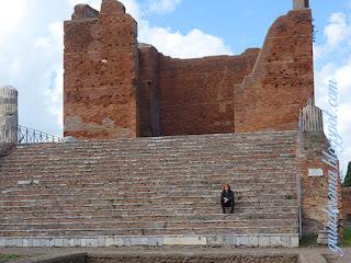 capitolio ostia antiga guia De roma - O Coliseu para brasileiros