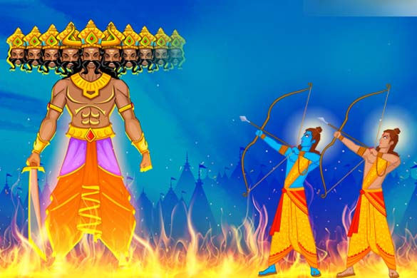 A Sort Of Dashanan Ravan Or What Can Be Called As Ravanas Thrashing This Year We Are Going To Observe Happy Dussehra 2016 On October 11 Tuesday
