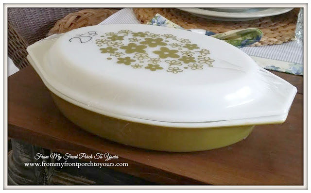 Vintage Pyrex-Thrift Store Shopping- From My Front Porch To Yours