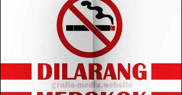 12 Contoh Poster Dilarang Merokok Kreatif Dan Unik Grafis Media