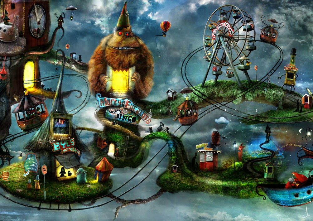 03-Alexander-Jansson-Fairy-tale-Worlds-in-Surreal-Paintings-www-designstack-co