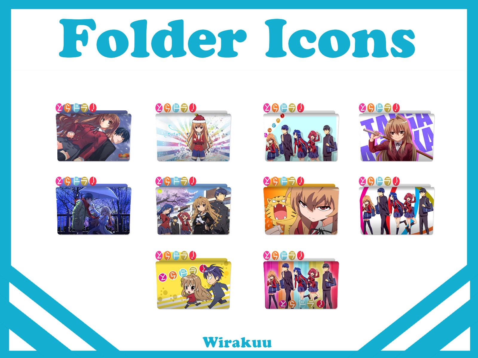 Folder Icons Anime Toradora Wirakuu