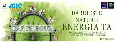 Earth Hour - Ora Pamantului la Craiova