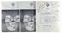 Sex Pistols 1977 - 1978 Crew Itineraries