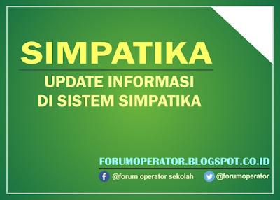 Update Informasi Sistem Simpatika