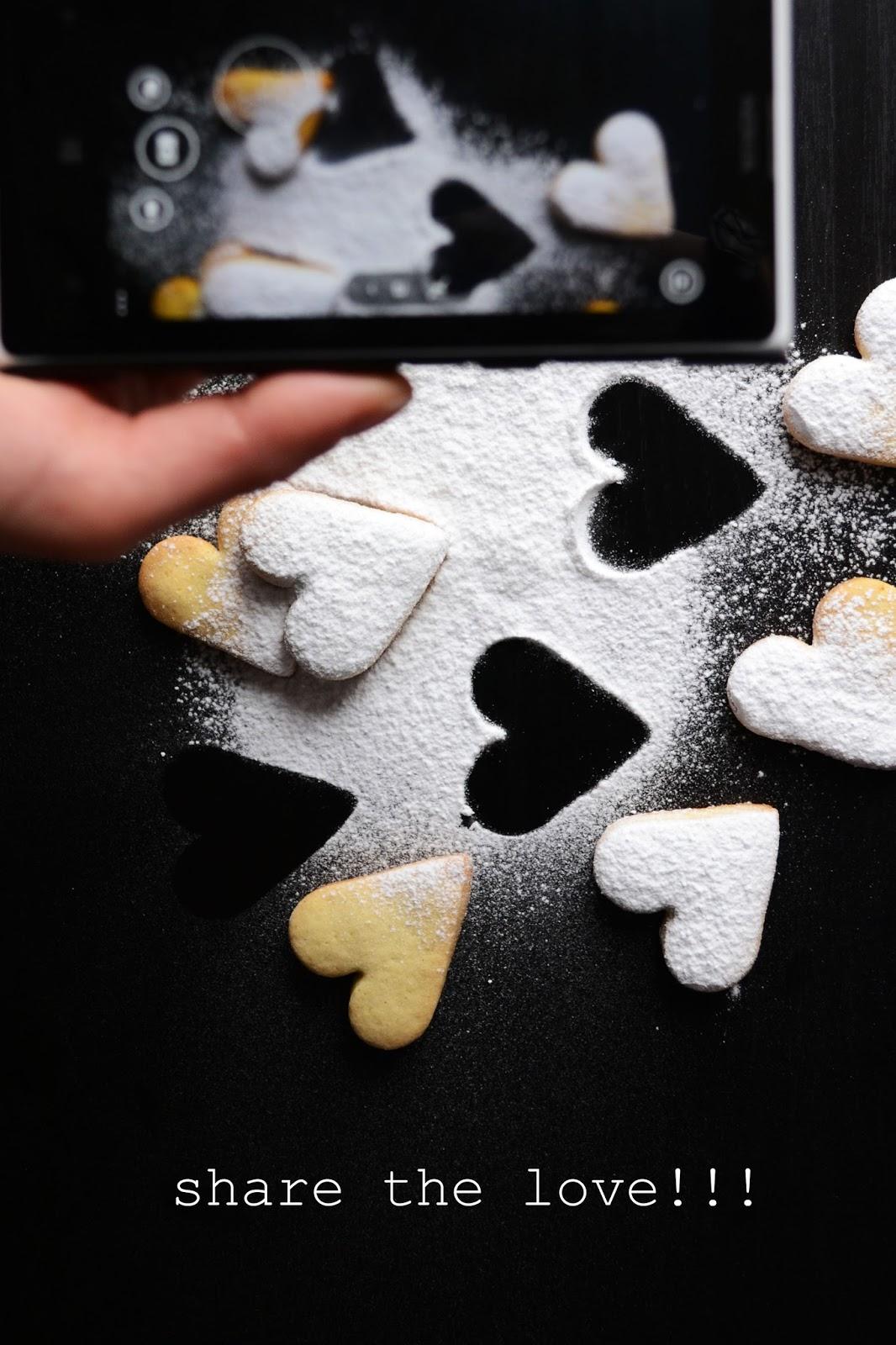 ricetta biscotti occhio di bue san valentino/st. valentine's linzer cookies recipe