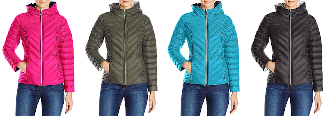 Nautica Reversible Light Down Hooded Jacket $57 (reg $150)