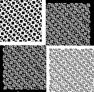 Erhältliche Muster als Collage