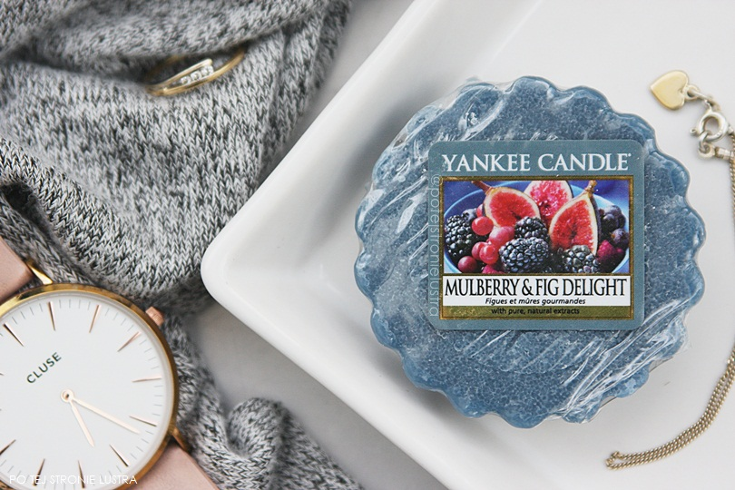 wosk yankee candle mulberry & fig delight