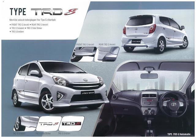 Interior Mobil Toyota Agya