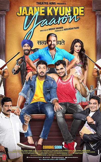 poster Jaane kyun de yaaron 2018 Hindi HD 720p
