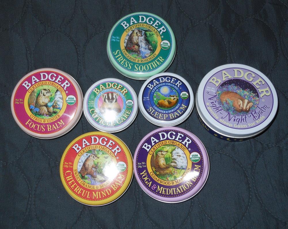 badger balm company balms heavy