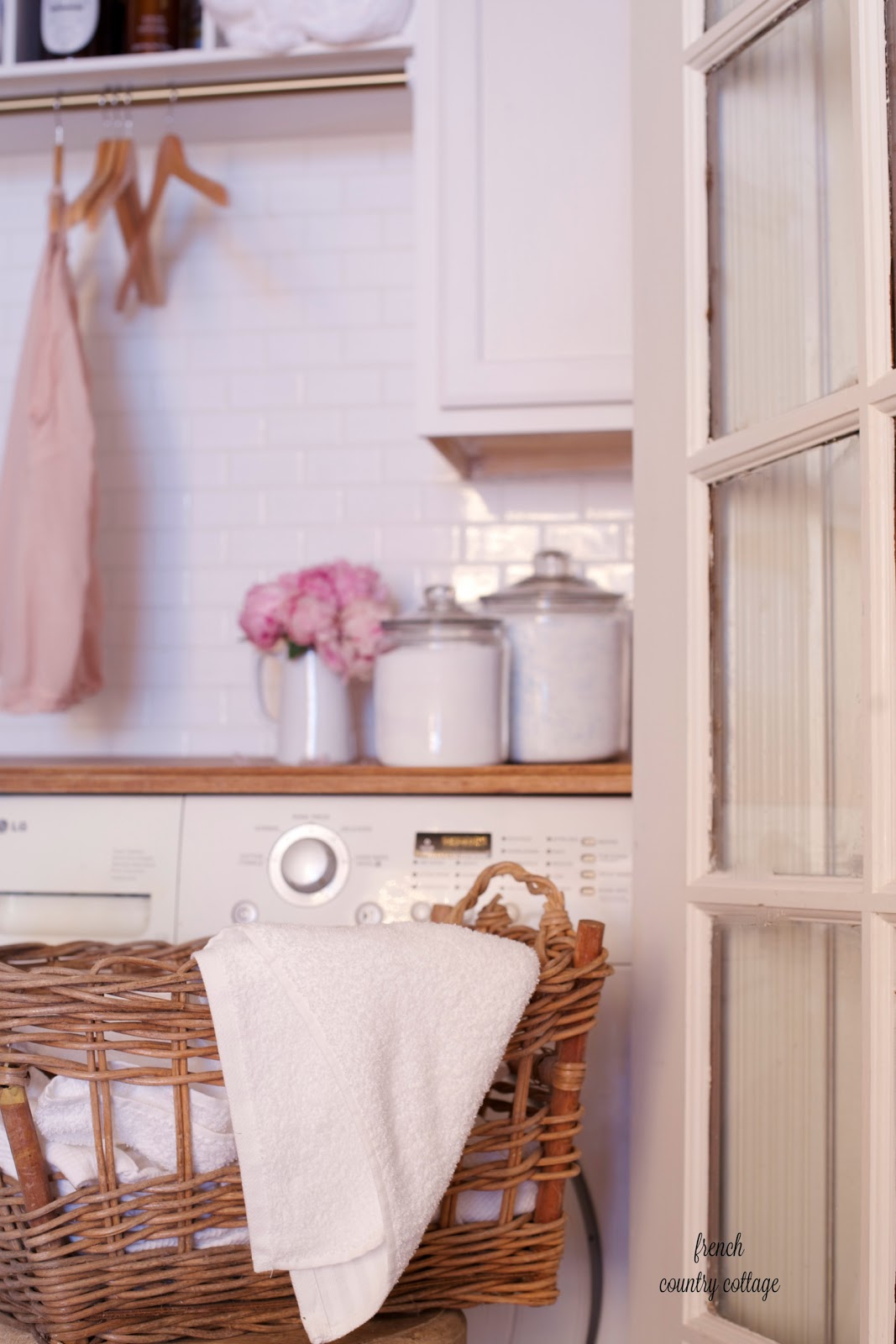 Bathroom Renovation Under $500 under $500 laundry room renovation reveal - french country cottage